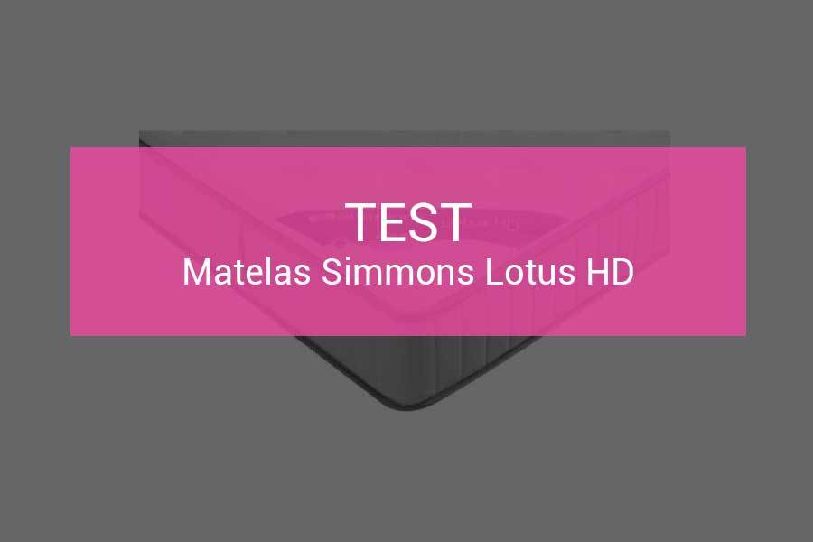 matelas simmons lotus 140x190 cheap finest amazing. Black Bedroom Furniture Sets. Home Design Ideas