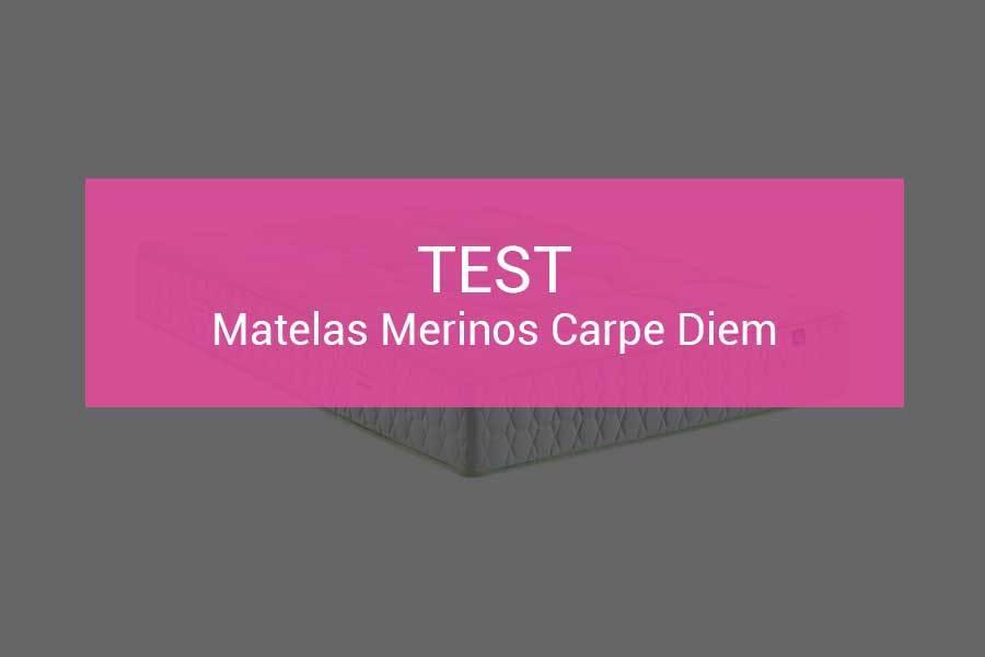 test et avis matelas merinos carpe diem 631 ressorts pour vous servir. Black Bedroom Furniture Sets. Home Design Ideas
