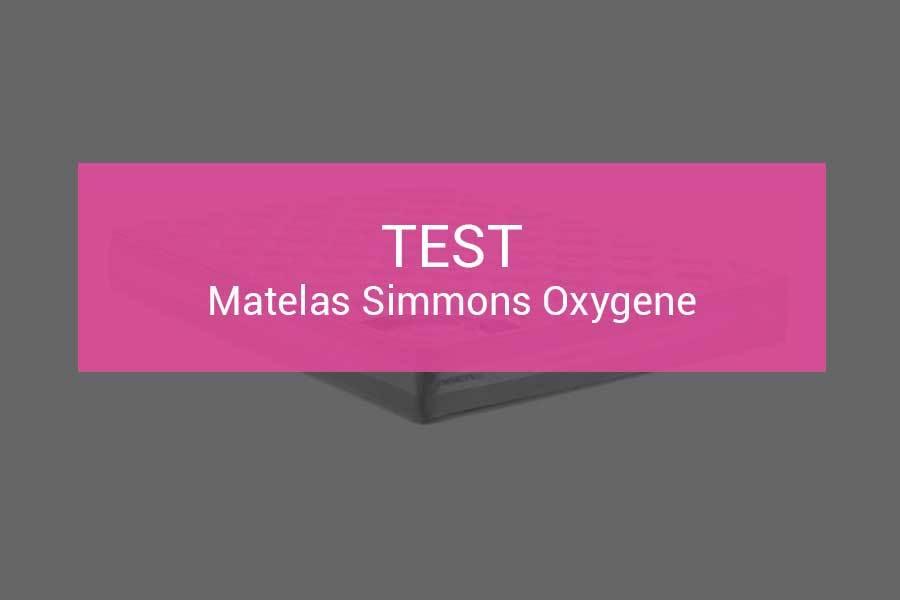 Test Et Avis Matelas Simmons Oxygene Un Bon Choix Milieux De Gamme