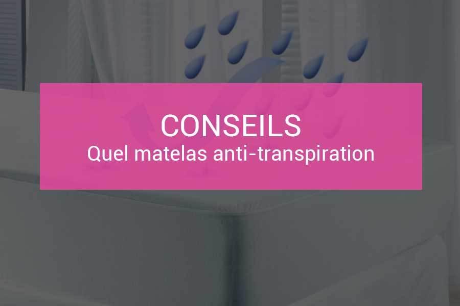 Matelas anti transpiration, lequel choisir ?   Les matelas.fr
