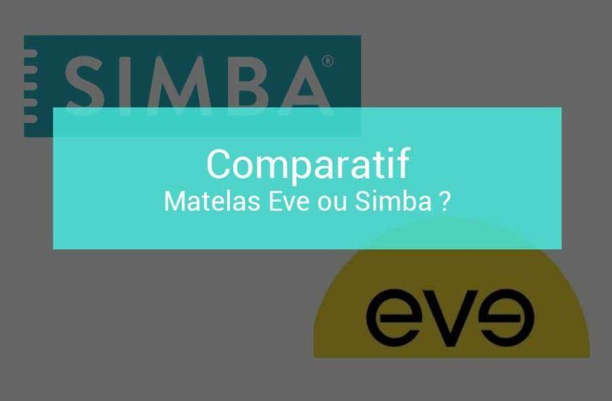 Comparatif matelas Eve ou Simba