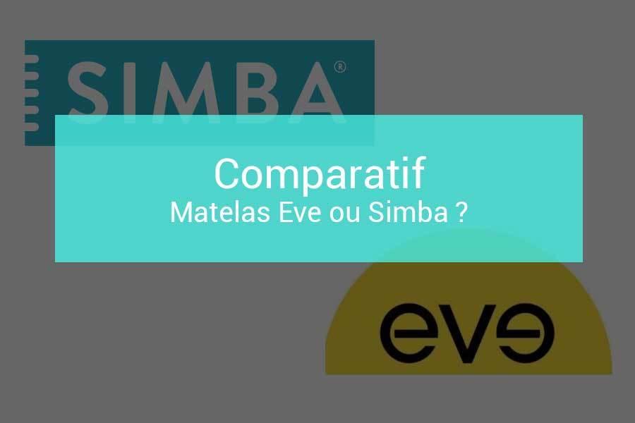 Comparatif Matelas Eve Ou Simba Quelques Différences Notables