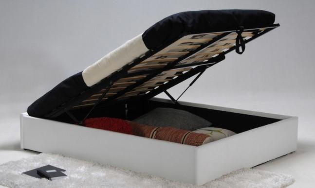 meilleur lit coffre en tissu