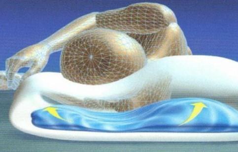 oreiller a eau position sommeil