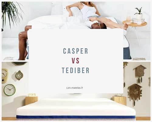 Matelas Casper ou Tediber ? Notre avis