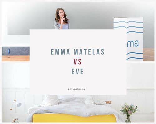 Matelas Eve ou Emma ? Notre avis