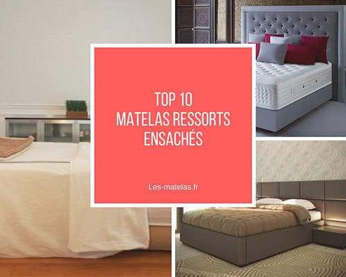 comparatif des meilleurs matelas ressorts ensach s avis 2018. Black Bedroom Furniture Sets. Home Design Ideas