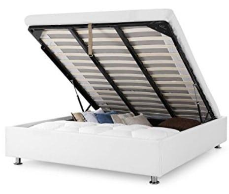 comparatif des meilleurs sommier et lit coffre mod les pas cher et avis. Black Bedroom Furniture Sets. Home Design Ideas