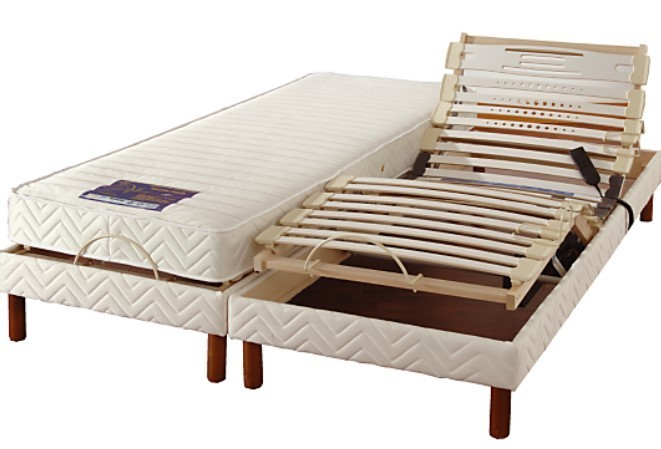 lit electrique interesting matelas with lit electrique. Black Bedroom Furniture Sets. Home Design Ideas