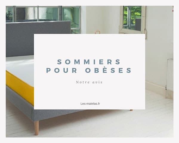 sommiers renforc s pour personnes fortes corpulences ob ses. Black Bedroom Furniture Sets. Home Design Ideas
