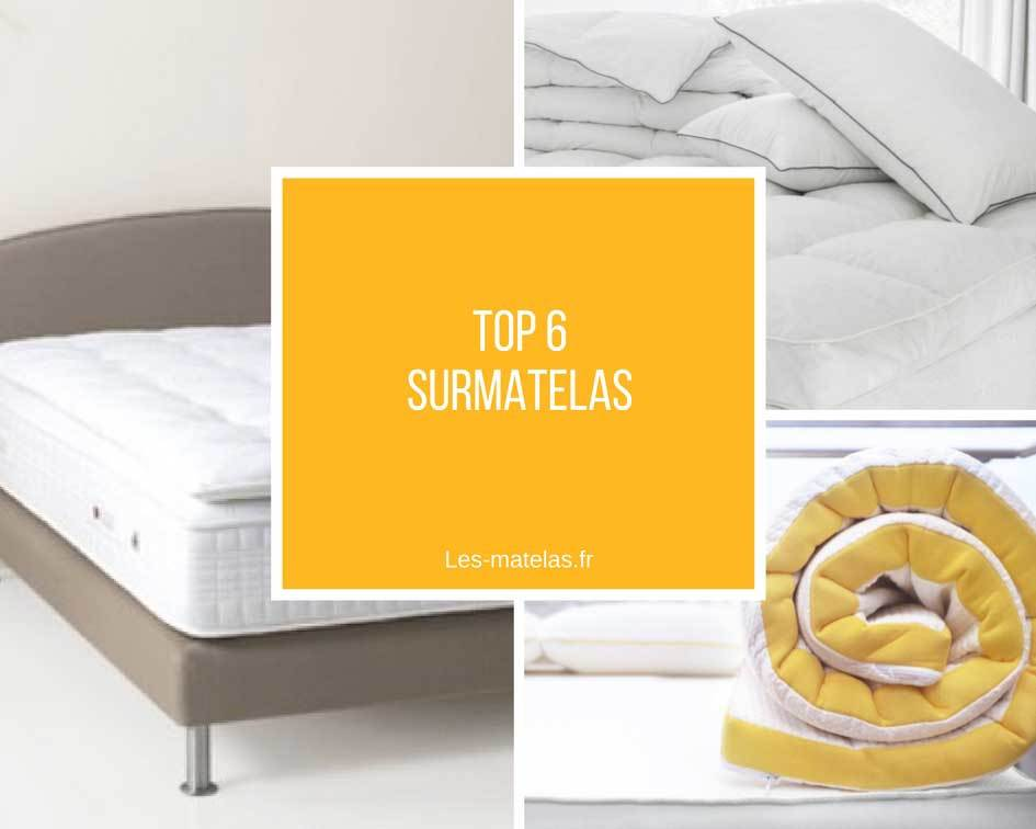comparatif meilleurs surmatelas m moire de forme avis pour 2019. Black Bedroom Furniture Sets. Home Design Ideas