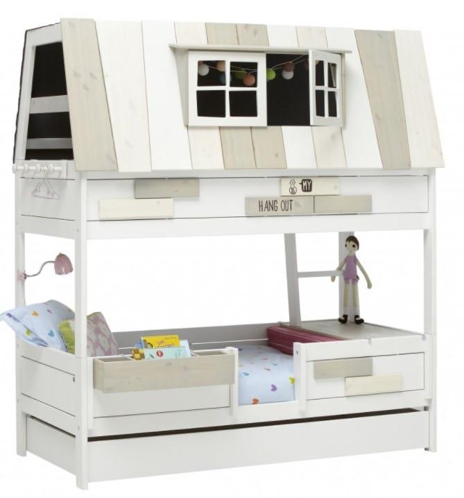 les meilleurs lit superpos cabane pour enfants avec ou sans toboggan. Black Bedroom Furniture Sets. Home Design Ideas
