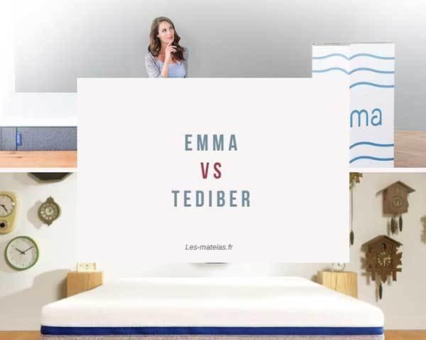 Comparatif Matelas Emma Et Tediber Lequel Vous Conviendra Le Mieux