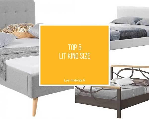 comparatif meilleurs lits king size lit 180x200 et. Black Bedroom Furniture Sets. Home Design Ideas