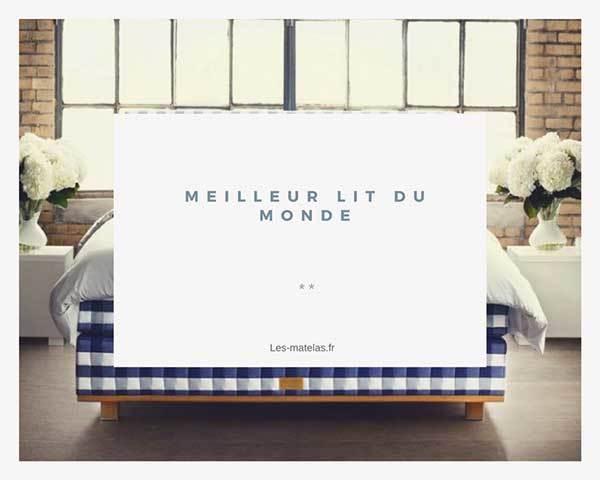 quel est le meilleur lit du monde et quel prix un. Black Bedroom Furniture Sets. Home Design Ideas