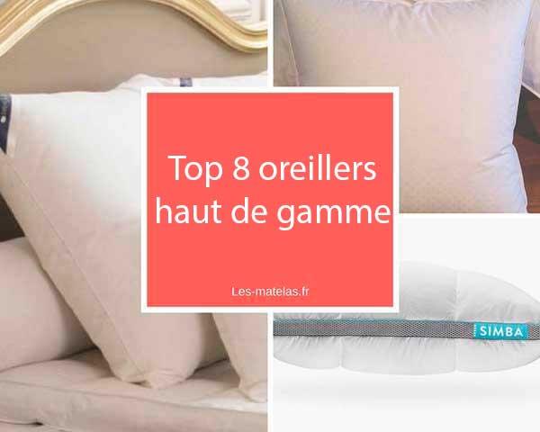 Comparatif Meilleurs Oreillers Haut De Gamme Coussins De Luxe Hotels