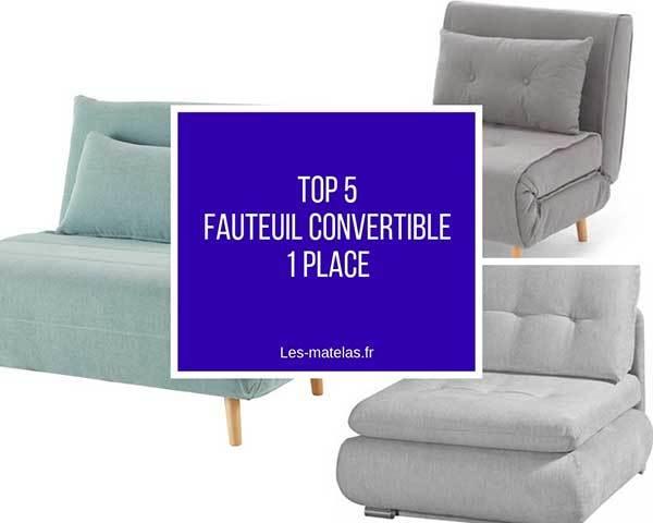 comparatif meilleurs fauteuils convertibles 1 place top. Black Bedroom Furniture Sets. Home Design Ideas