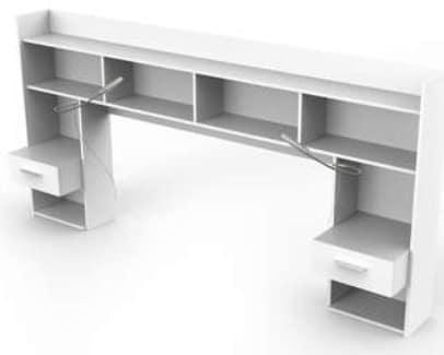 comparatif meilleures t tes de lit avec chevet rangement et tiroirs. Black Bedroom Furniture Sets. Home Design Ideas