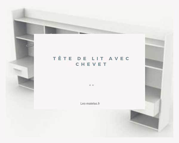 comparatif meilleures t tes de lit avec chevet rangement. Black Bedroom Furniture Sets. Home Design Ideas