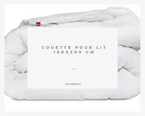 comparatif des meilleures couettes pour lit 180x200. Black Bedroom Furniture Sets. Home Design Ideas