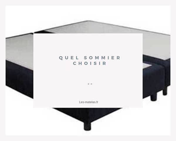 comment choisir son sommier lattes ou tapissier notre. Black Bedroom Furniture Sets. Home Design Ideas