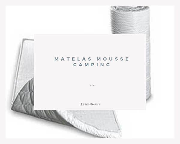 Comparatif Meilleurs Matelas Mousse Pour Le Camping Avis En 2019