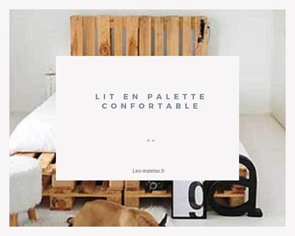 Lit En Palette Confortable