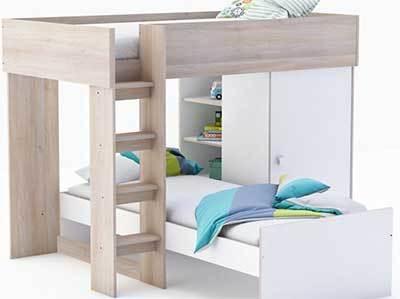 0aa7e8b22f1ed5 Comparatif meilleurs lits superposés avec rangement - Top 3 en 2019