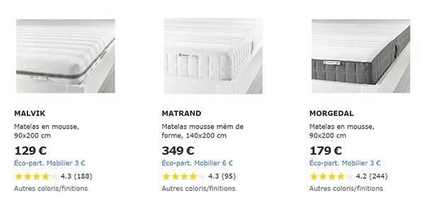 Matelas Ikea