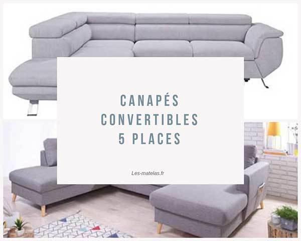 Comparatif meilleurs canap s convertibles 5 places avis en 2019 - Avis canape convertible ...