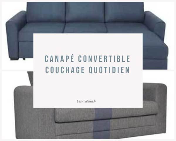 Quotidien Canapé Quotidien Couchage Convertible Couchage Convertible Canapé 6bfvmIgyY7