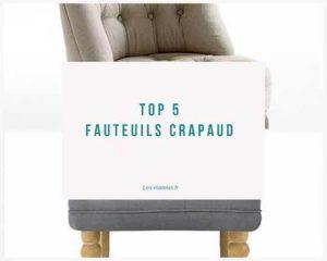 top5 fauteuil crapaud