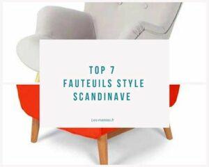 top7 fauteuil scandinave
