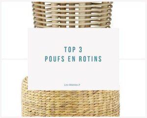 top3 pouf rotin