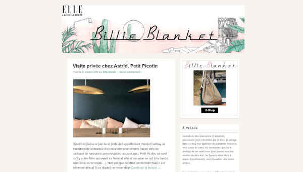 Top 20 blogs deco - billie blanket