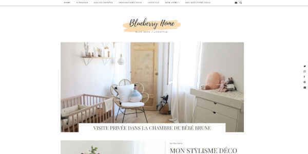 Top 20 blogs deco - blueberry home