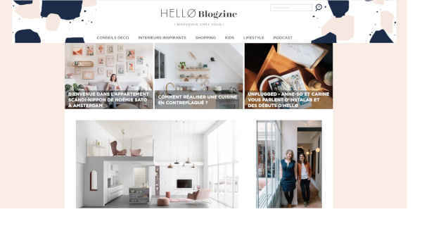 Top 20 blogs deco - hello blogzine