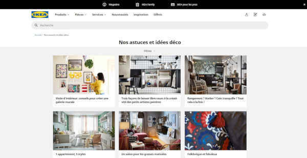 Top 20 blogs deco - ikea