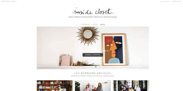 Top 20 blogs deco - inside closet