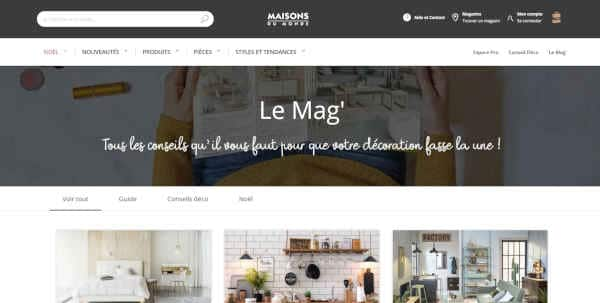 Top 20 blogs deco - maisons du monde