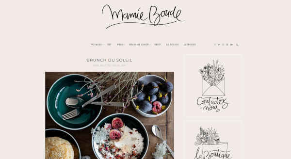 Top 20 blogs deco - mamie boude