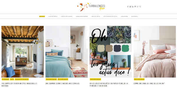 Top 20 blogs deco - turbulences deco