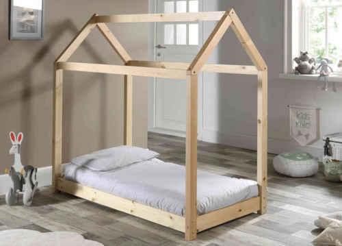 lit cabane terre de nuit 1