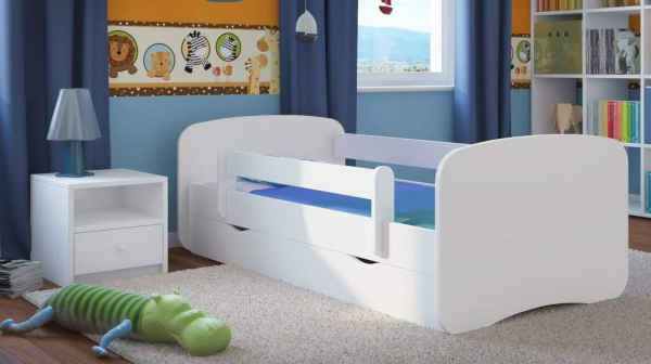 lit enfant avec barrière carellia
