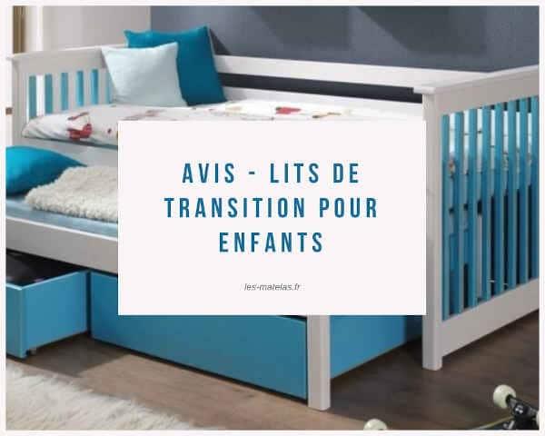 Avis - lits de transition pour enfants