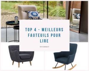 Top 4 - Meilleurs fauteuils pour lire