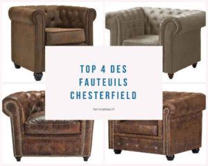 Top 4 des fauteuils Chesterfield