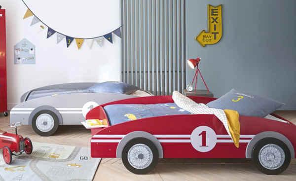 lit original enfant voiture Circuit
