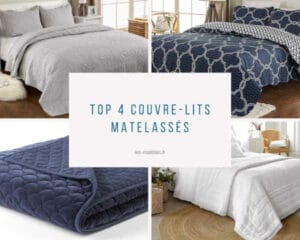 Meilleurs couvre-lits matelassés
