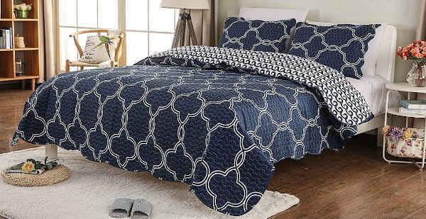 couvre lit matelassé NOWHAP